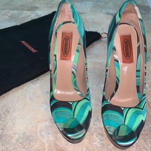 Gorgeous Missoni Heels
